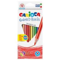 Trikotne barvice Colored pencils 12 kosov