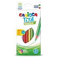 Barvice Tita trikotne oblike12 kosov