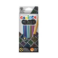Barvice Metallic klasične šestkotne 12 kosov