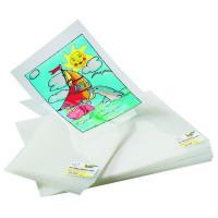 Podloga za lepljive barve za steklo A4 1 kos