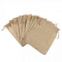 Vrečke imitacija jute 13x17m 10 kosov