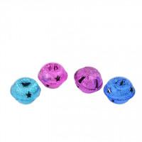 Kraguljčki barvni miks 24x20mm 4 kosi