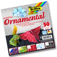 Origami papir Ornamental 15cmx15cm 50 listov