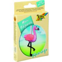 Mini filc set za šivanje Flamingo