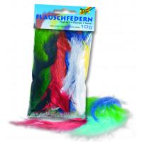 Perje barvno mix barv 10g