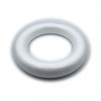 Obroč iz stiroporja 20 cm 1kos poln krog