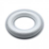 Venček iz stiroporja 20 cm 1kos poln krog