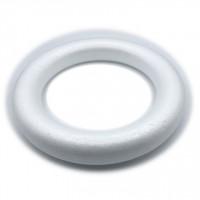 Obroč iz stiroporja 24 cm 1kos poln krog