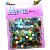 Mozaik sijajen 5x5mm barvni miks 700 kosov