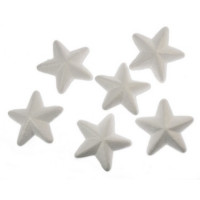 Zvezdice iz stiroporja 7,5 cm 6 kosov
