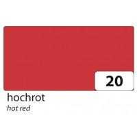 Barvni karton tonkarton A4 220g/m2 1 kos-Rdeča