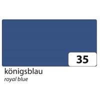 Barvni karton tonkarton format A4 220g/m2 1 kos-Modra kraljevska