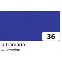 Barvni karton tonkarton A4 220g/m2 1 kos-Modra ultramarin