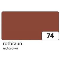 Barvni papir Tonpapir A4 130g/m2 1 kos -Red Brown