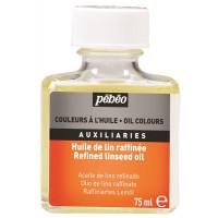 Rafinirano laneno olje za oljne barve, 75 ml