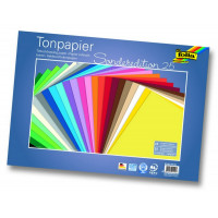 Tonpapir 130 g/m2 25x35cm 25 listov v barvnem asortimentu