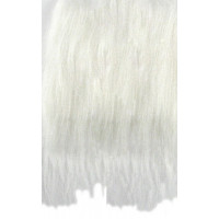 Dolg pliš bele barve 430g/m2 25x35cm