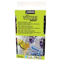 Set VITREA 160 GLOSSY barv za steklo 12 x 20 ml