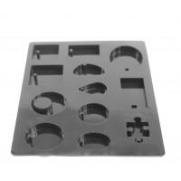 Silikonski kalup Geometrijske oblike 2