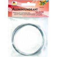 Aluminijasta žica 1mmx5m srebrne barve