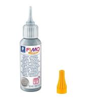 Fimo Liquid 50ml različne barve-Srebrna