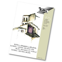 Šolski akvarelni blok format A4 150g/m2 10 listov