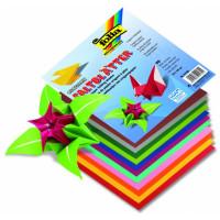 Origami papir barvni 10cmx10cm 69 listov