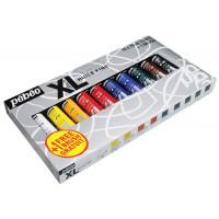 Oljne barve STUDIO XL set 10x20ml + čopič