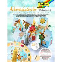 Adventni koledar Božična vas set 26 delov