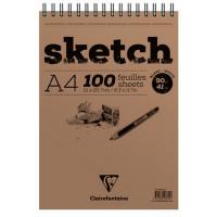 Skicirka A4 100 listov spiralna vezava