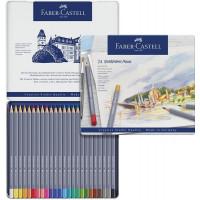 Akvarelne barvice Goldfaber 24 kosov Faber-Castell