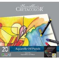 Akvarelni oljni pasteli Aqua Stic 20 kosov