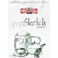 Blok papirja za skiciranje popSketch A4 110g/m2 20 listov