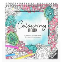 Pobarvanka Colouring book zelena 80 motivov
