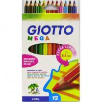 Debele barvice Mega 12/1 Giotto