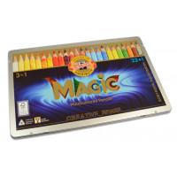 Čarobne barvice Magic 3v1 23+1 kosov Koh-I-Noor