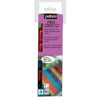 Set svetlečih dekorativnih akrilnih barv P.BO DECO GLOSSY 6x20ml