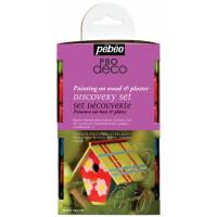 Set svetlečih dekorativnih akrilnih barv P.BO DECO GLOSSY 12x20ml
