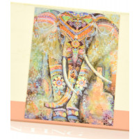 Slikanje s kristalčki Slon 40x50cm