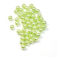 Perle voščene 10mm 50 kosov