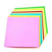 Barvni papir A4 kolaž 100 listov 80g