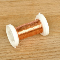 Žica bakrene barve 0,25 mm 50m