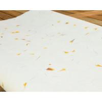 Bombažni papir s cvetličnimi motivi 50x70cm