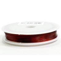 Najlonska žica bakrene barve 0,45 mm x 100 m