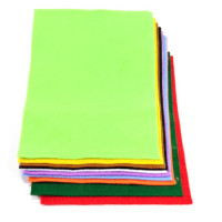 Filc A4 mešane barve 10 pol