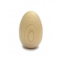 Jajce leseno 6x4cm 1 kos