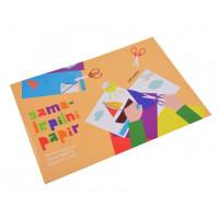 Samolepilni kolaž papir A4 12 listov