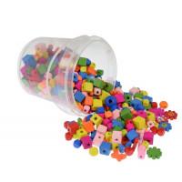 Perle lesene miks oblik in barv 350g