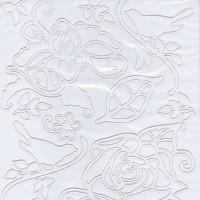 Nalepke NARAVA bele barve