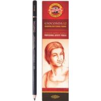 Oglje v svinčniku GIOCONDA 1 kos